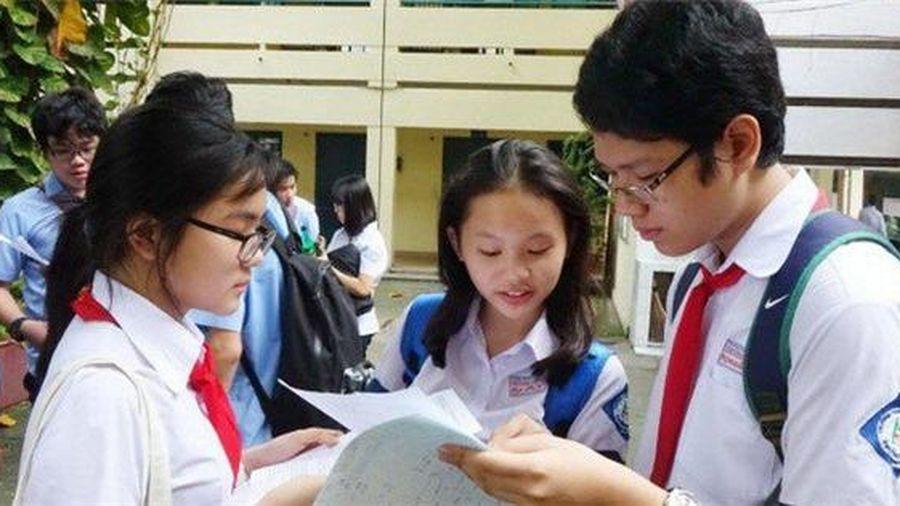 Gợi ý đáp án môn Tiếng Anh thi vào lớp 10 tại TP Hồ Chí Minh
