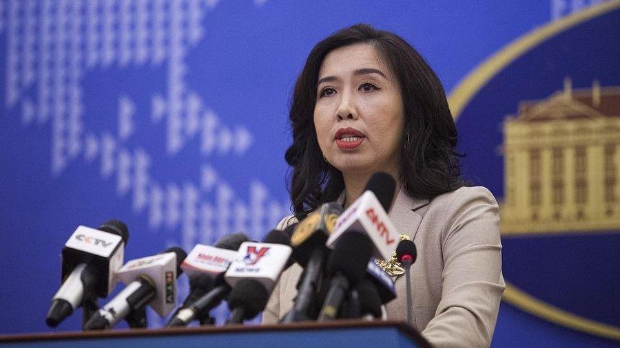 Việt Nam phản ứng phát ngôn về Biển Đông của người phát ngôn Bộ Ngoại giao Trung Quốc