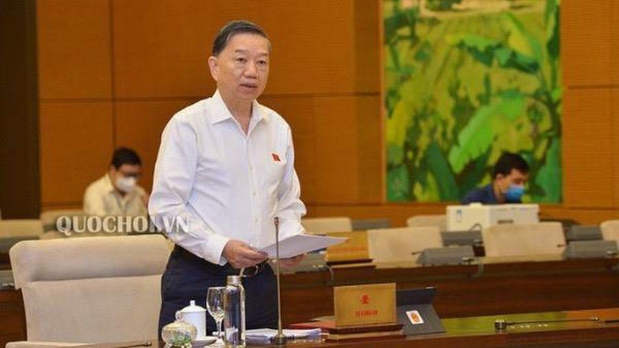 Bộ trưởng Tô Lâm mong Thường vụ 'điểm danh' 2 dự luật quan trọng