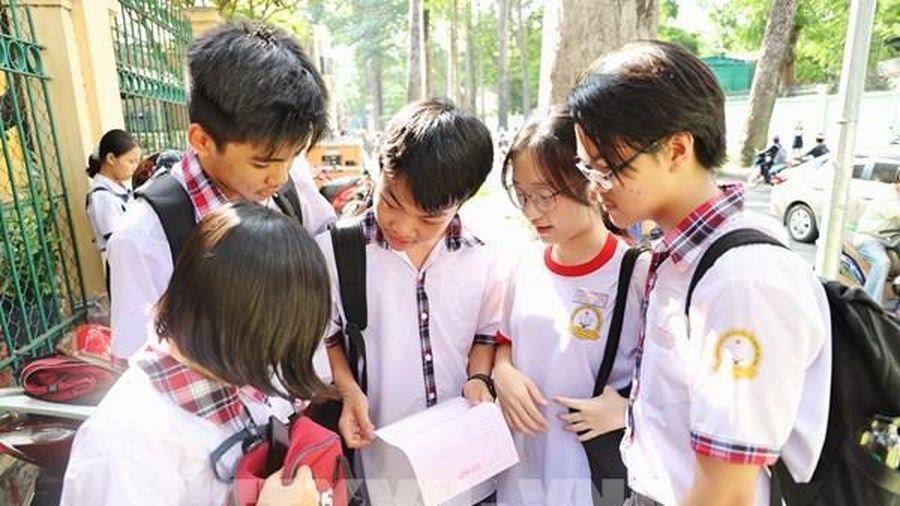 Tuyển sinh lớp 10 tại Tp Hồ Chí Minh: Đề thi Ngoại ngữ vừa sức với nhiều thí sinh
