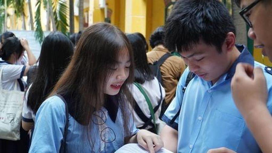 TPHCM: Kết thúc ngày thi đầu tiên vào lớp 10 có 554 thí sinh bỏ thi