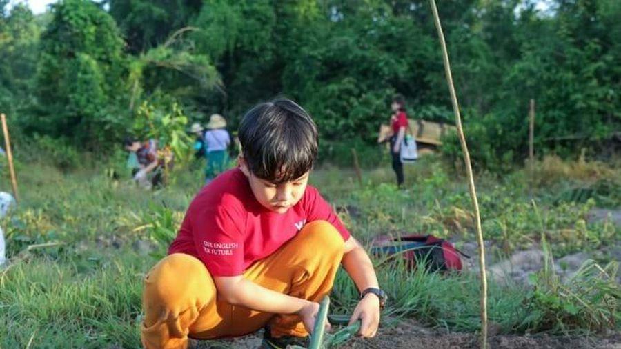 Học sinh VUS khởi động mùa hè bằng việc trồng hơn 2,5 ngàn cây xanh