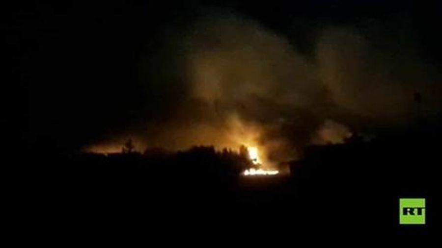 Nổ kho đạn ở đông bắc Syria gần biên giới Thổ Nhĩ Kỳ