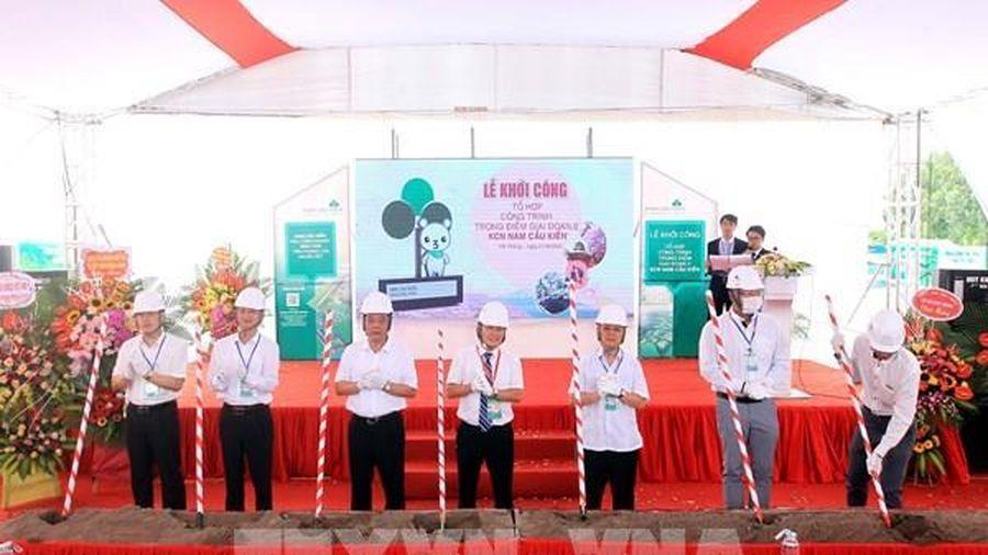 Khởi công 'Tổ hợp công trình trọng điểm giai đoạn II - Khu công nghiệp Nam Cầu Kiền'