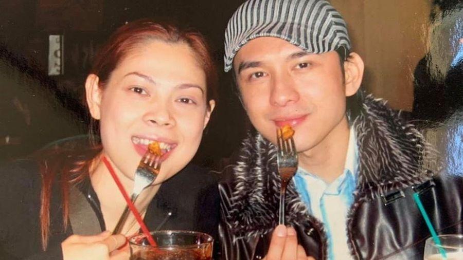 Ảnh Đan Trường, Thanh Thảo đi diễn 16 năm trước
