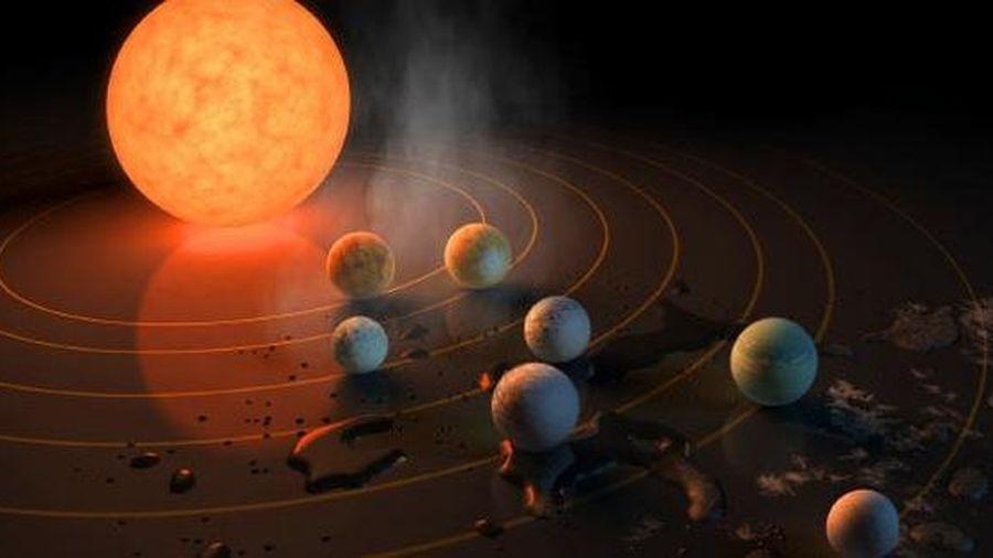 'Hệ mặt trời' khác có tới… 7 trái đất, có thể ở được!