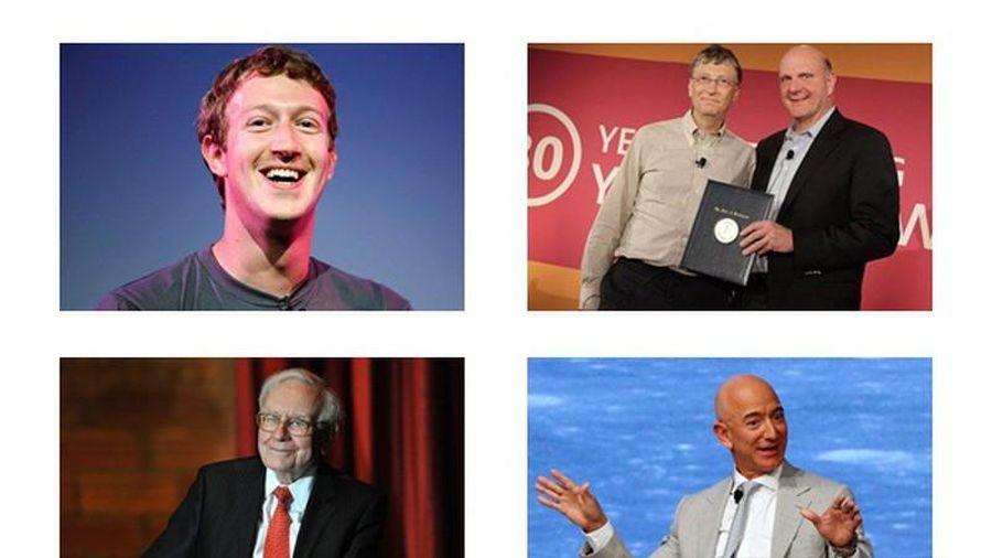 Đại gia thế giới mất bao lâu để thành tỷ phú?
