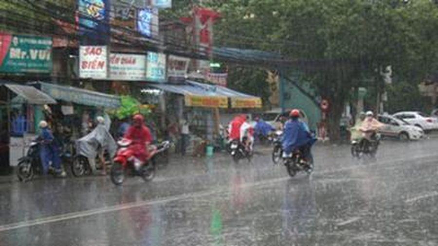 Nhiều khu vực trên cả nước có mưa to đến rất to
