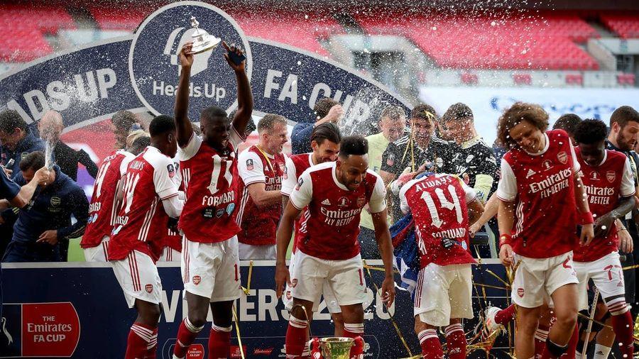Khoảnh khắc đáng nhớ trong ngày Arsenal lập nên kỳ tích ở FA Cup
