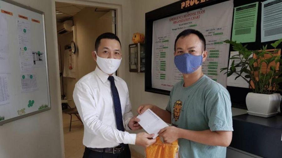 Chăm lo cho người lao động đợt dịch Covid-19: Ghi nhận từ Công đoàn khách sạn JW Marriott Hà Nội