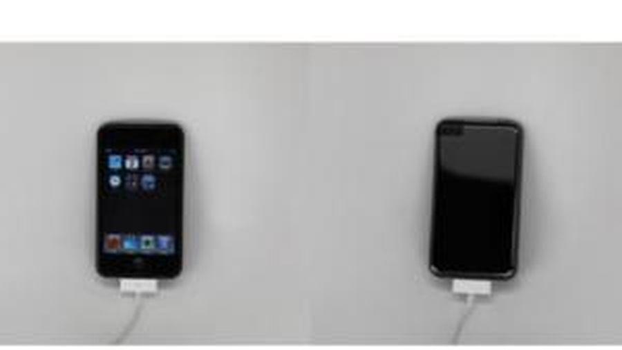Lộ ảnh iPod Touch đời đầu với mặt lưng đen bóng, đẹp không kém cạnh iPhone 7 Jet Black