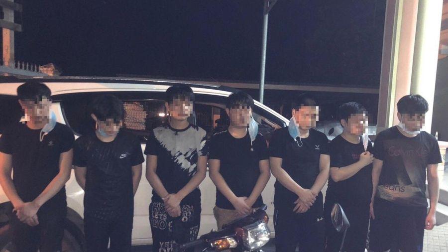 Phát hiện tài xế chở 7 người Trung Quốc nghi nhập cảnh trái phép ở Sài Gòn về Tây Ninh