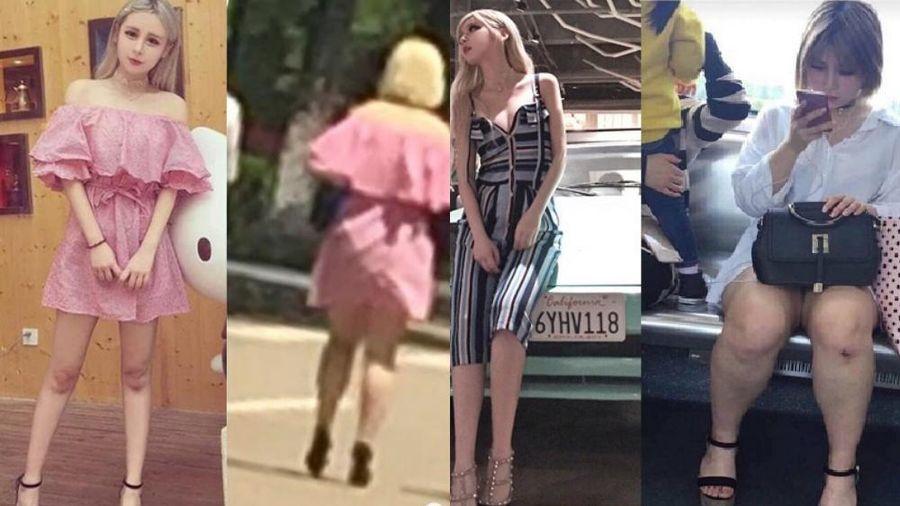 Dân mạng tố hotgirl Trung Quốc 'lừa đảo' khi lộ ảnh bị chụp lén trên đường phố
