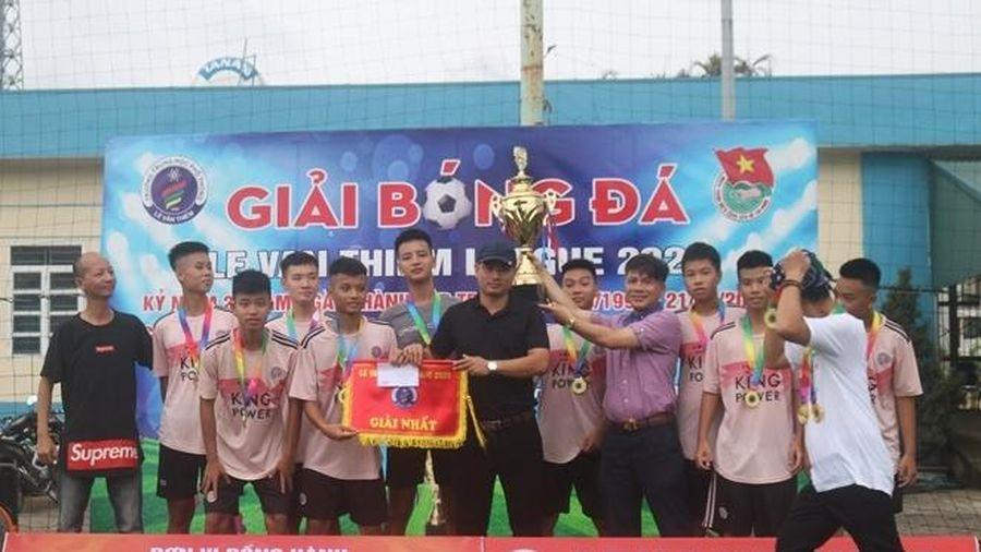 Lê Văn Thiêm League 2020 tìm ra chủ nhân cúp vô địch
