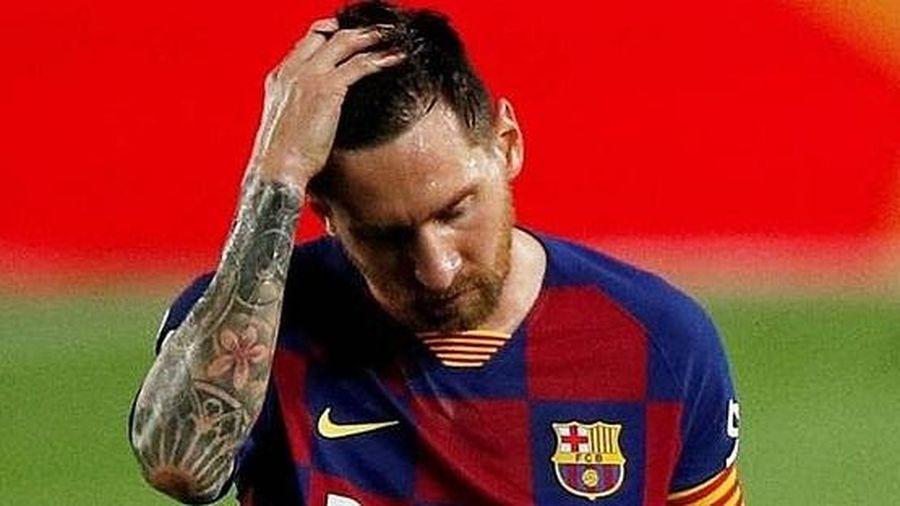 Messi có thành tích ghi bàn tệ sau 11 mùa giải