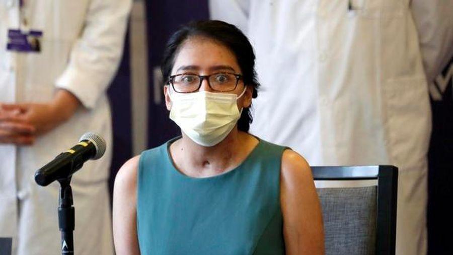 Bệnh nhân Covid-19 đầu tiên ở Mỹ sống sót nhờ ghép phổi