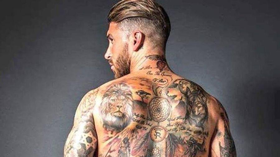 Sergio Ramos khoe hình xăm mới tặng con trai