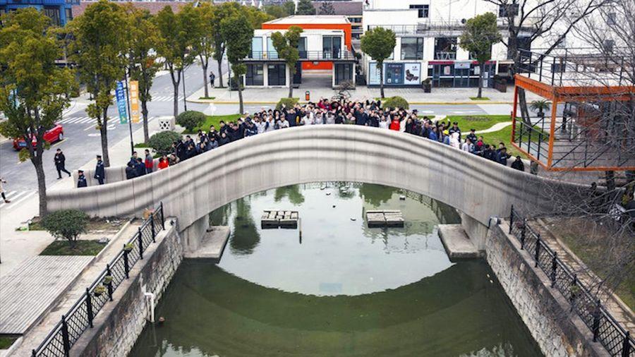 Trung Quốc xây dựng chiếc cầu in 3D dài nhất thế giới