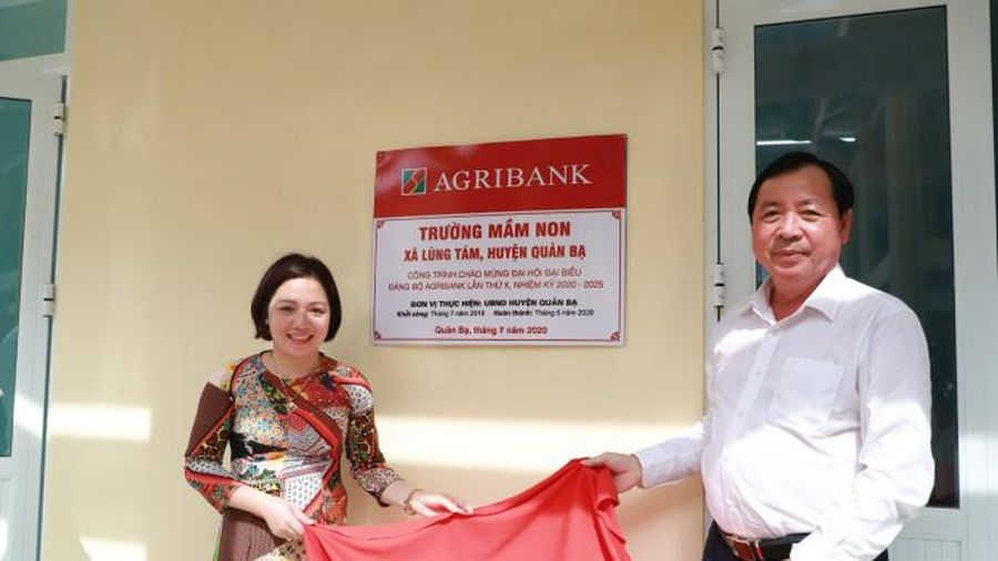 Những lớp học đa năng 'Agribank' trên cao nguyên đá Hà Giang