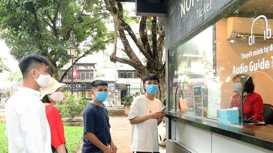 Di tích, danh thắng Hà Nội tiếp tục chủ động biện pháp phòng dịch