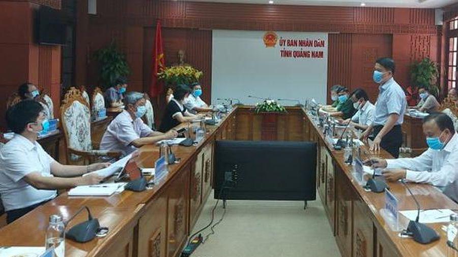 Quảng Nam cần tập trung nguồn lực đẩy nhanh việc xét nghiệm