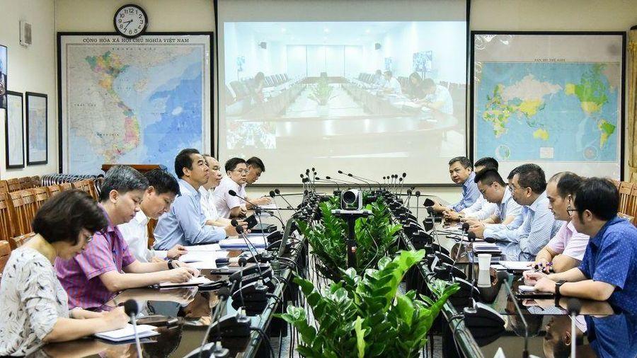 Bộ Ngoại giao họp Nhóm thường trực công tác về phòng chống dịch Covid-19