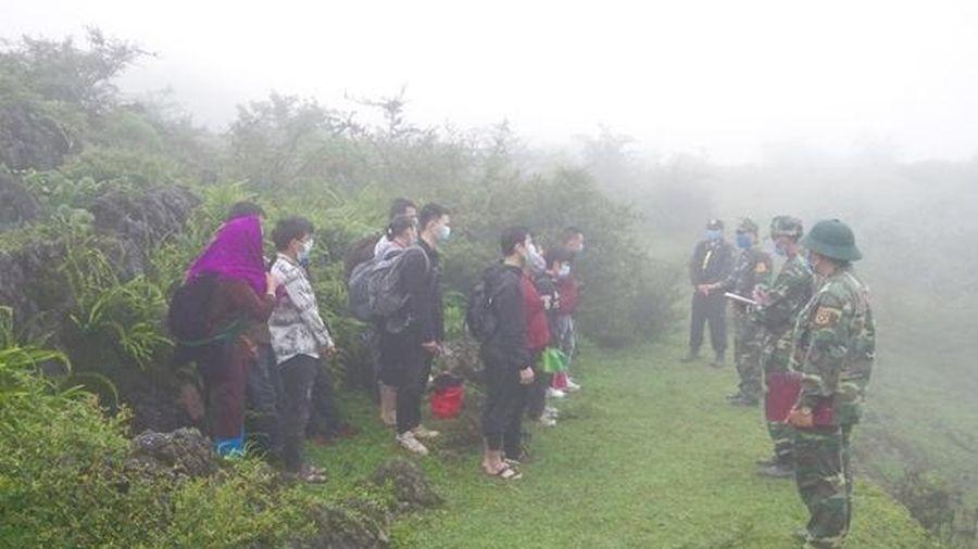 Hà Giang: 3 ngày đầu tháng 8 phát hiện 92 người nhập cảnh trái phép