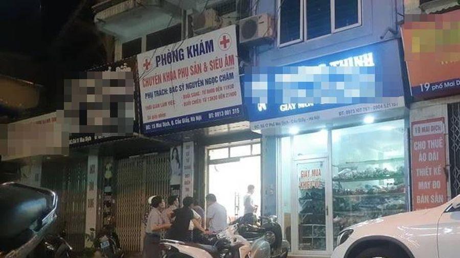 Một phụ nữ tử vong tại phòng khám phụ sản tư ở Hà Nội