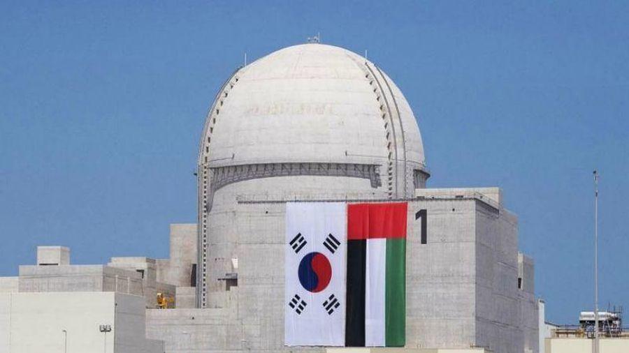 UAE vận hành lò phản ứng hạt nhân đầu tiên