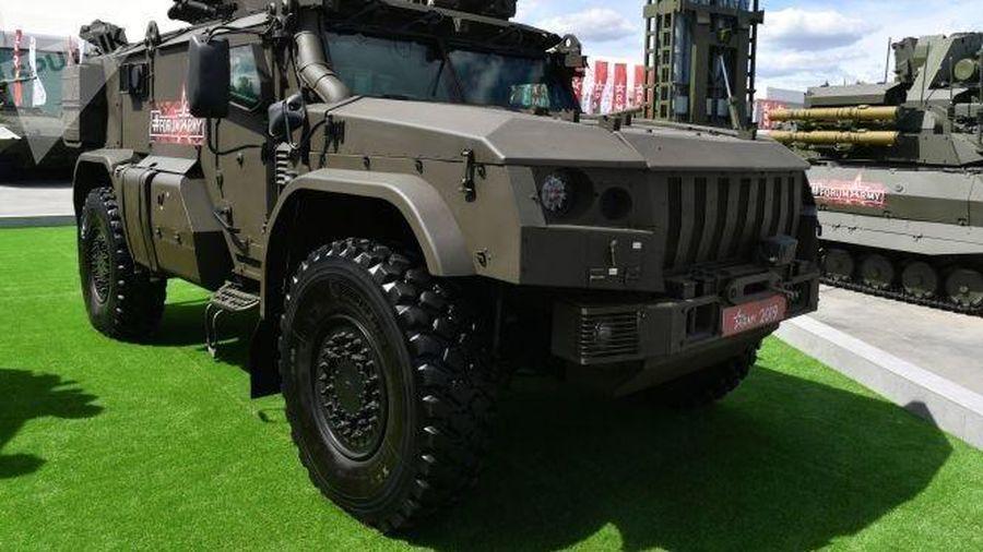 Quân đội Nga sẽ được trang bị xe bọc thép tối tân Typhoon VDV vào năm 2021