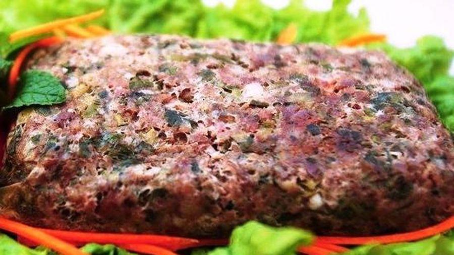 Thịt băm gói lá nướng - Tinh tế trọn vị