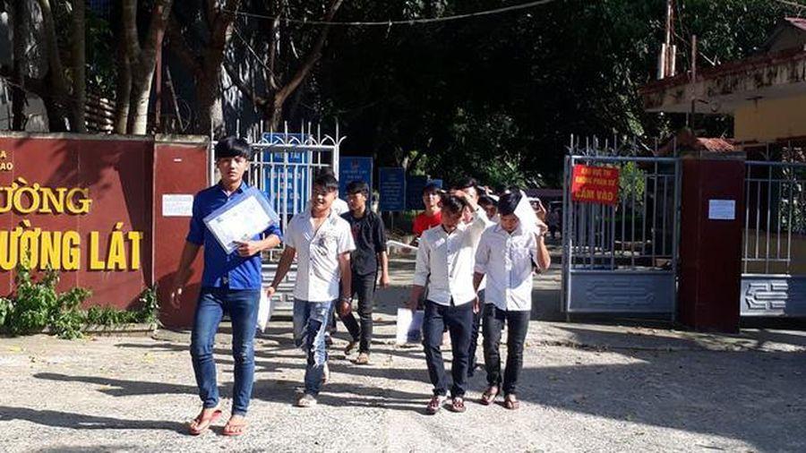 Thanh Hóa chi 100 triệu hỗ trợ thí sinh 3 huyện miền núi thi tốt nghiệp THPT