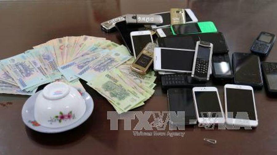 Triệt phá tụ điểm đánh bạc quy mô lớn ở thành phố Biên Hòa