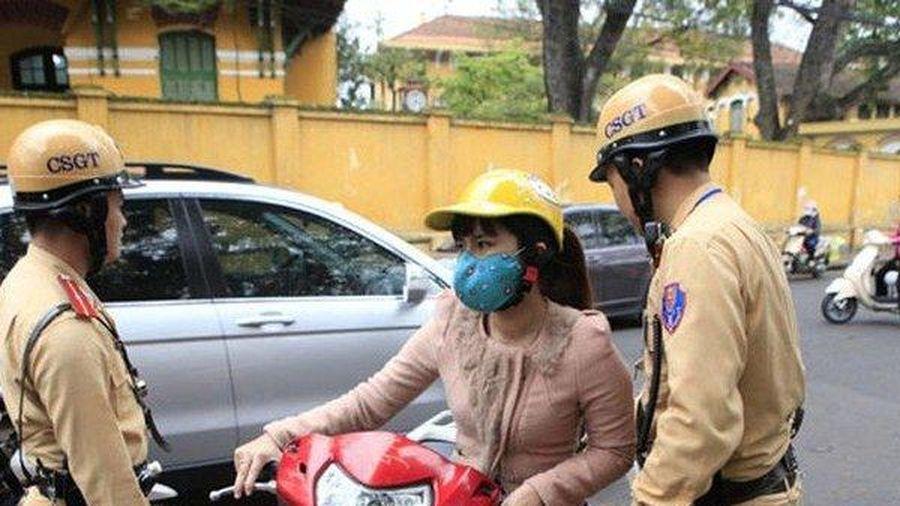 Lỗi xe máy không gương bị phạt bao nhiêu tiền từ năm 2020?