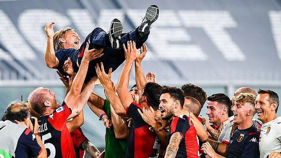 Vòng 38 Serie A: Xác định đội cuối cùng xuống hạng