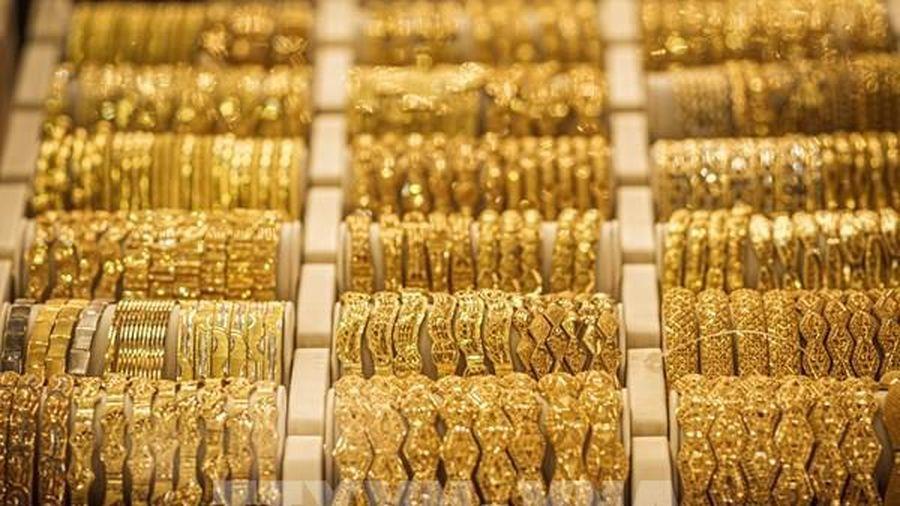 Lo ngại về dịch COVID-19 đẩy giá vàng châu Á lên mức kỷ lục mới phiên 3/8