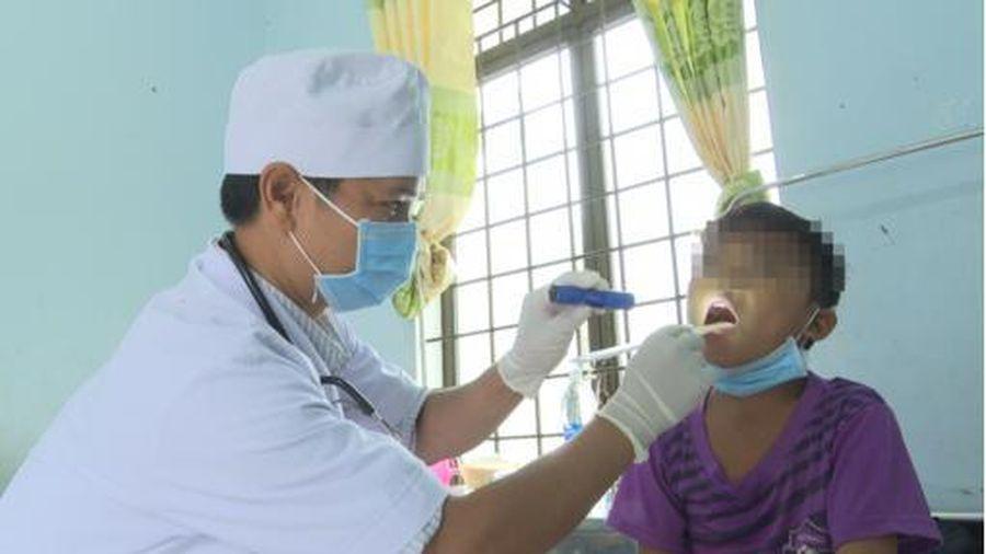 Kon Tum ghi nhận 42 trường hợp dương tính bạch hầu