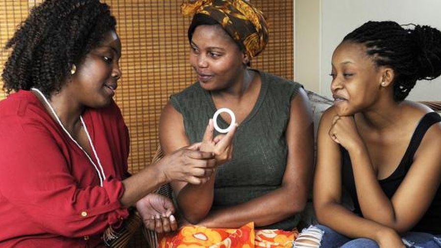 Vòng âm đạo giúp phụ nữ ngăn ngừa HIV