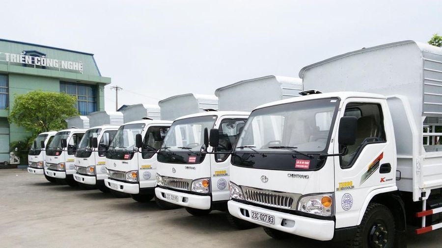 Mẫu xe tải nào được giảm phí trước bạ nhiều nhất?