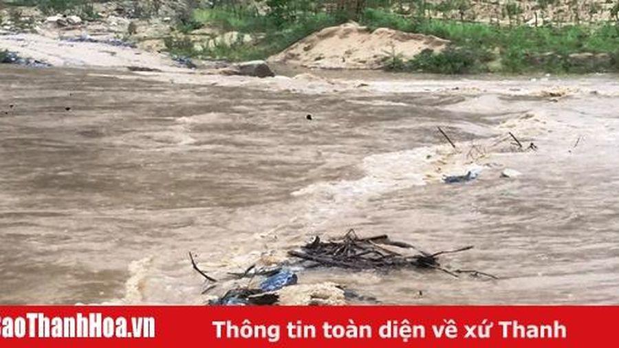 Huyện Quan Sơn (Thanh Hóa): Nhiều hộ dân bị ảnh hưởng bởi cơn bão số 2