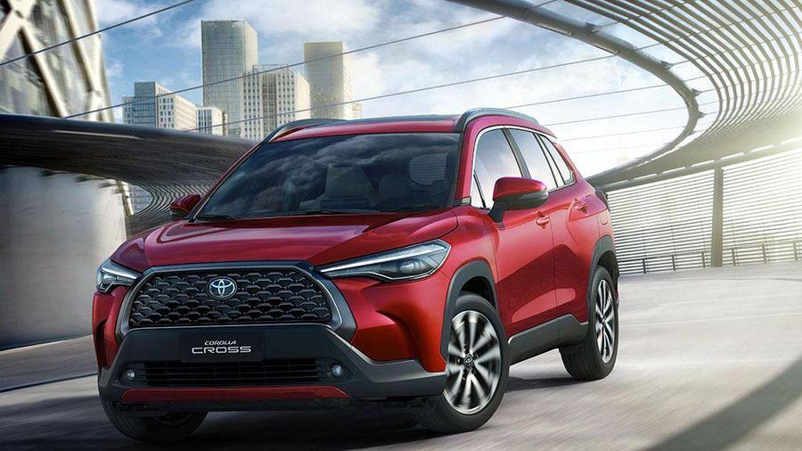 Toyota Corolla Cross rò rỉ thông số trước ngày ra mắt tại Việt Nam