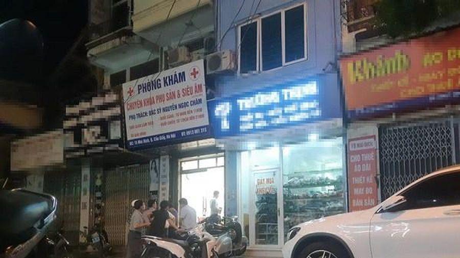 Tin mới vụ người phụ nữ mang thai 15 tuần tử vong ở phòng khám tư tại Hà Nội