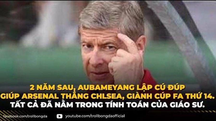 Biếm họa 24h: 'Giáo sư' Wenger tính toán như thần giúp Arsenal vô địch FA Cup