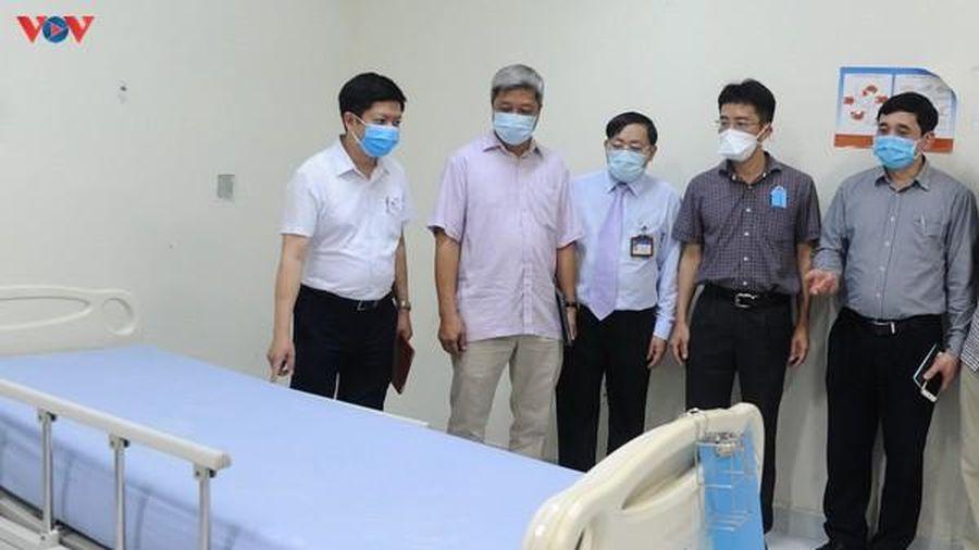 Bộ Y tế sẽ hỗ trợ Quảng Nam 10 máy thở, 2 máy lọc chống dịch Covid-19