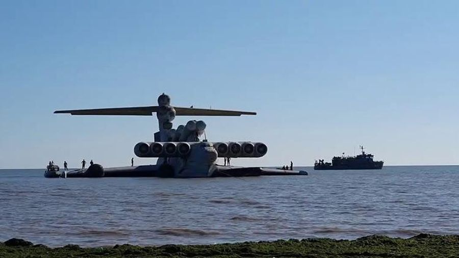 Thủy phi cơ Lun 903 - Quái vật biển Caspian thời Liên Xô