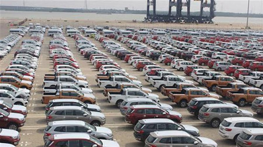 7 tháng đầu năm, ô tô nhập giảm hơn 48%