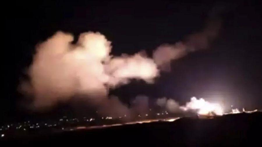 Phòng không Syria đánh chặn mục tiêu 'thù địch' từ Israel nhằm vào Damascus