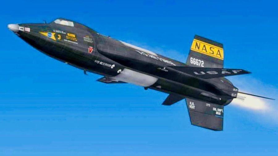Phi cơ X-15 Mỹ có thể bay nhanh hơn cả tên lửa