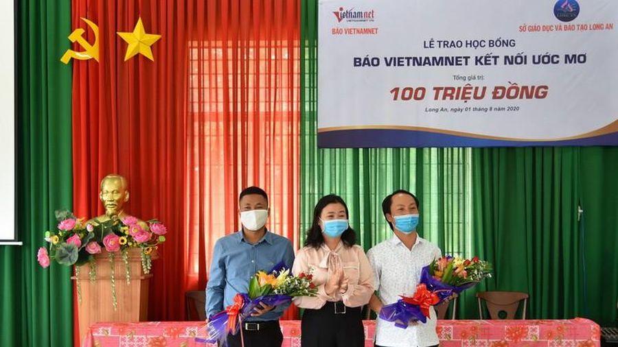 Him Lam Land tiếp sức học sinh nghèo vượt khó ở Long An