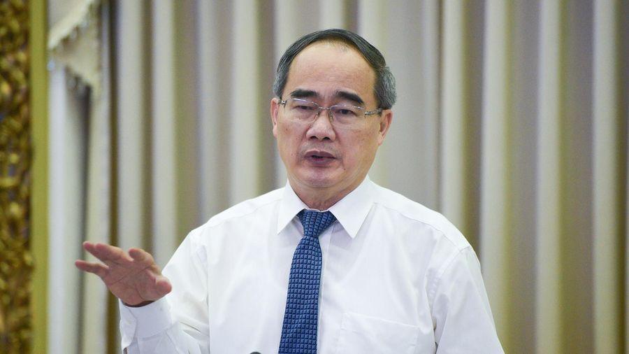 Bí thư Nguyễn Thiện Nhân: Chuẩn bị kịch bản cho 50 ca nhiễm tại TP.HCM